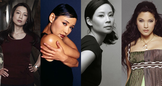 Lucy liu and family