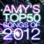 Amy's Top50 Songs of 2012