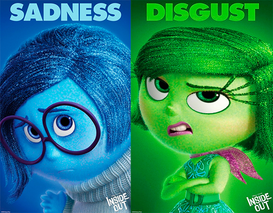 Inside Out Sadness Coloring Page