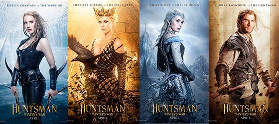 huntsman-character-posters