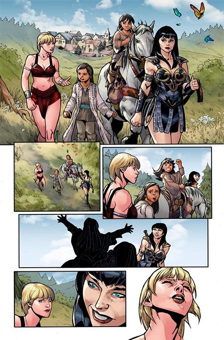xena-comics